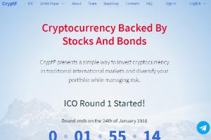CryptF ICO   DOI + Rev.Share