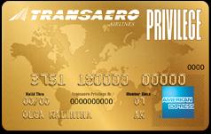 Transaero American Express Gold Card