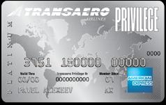 Transaero American Express Platinum Card
