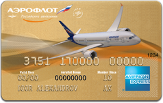 Aeroflot American Express Gold Card
