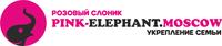 Розовый слоник RU Logo